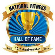 national fitness hall of fame logo