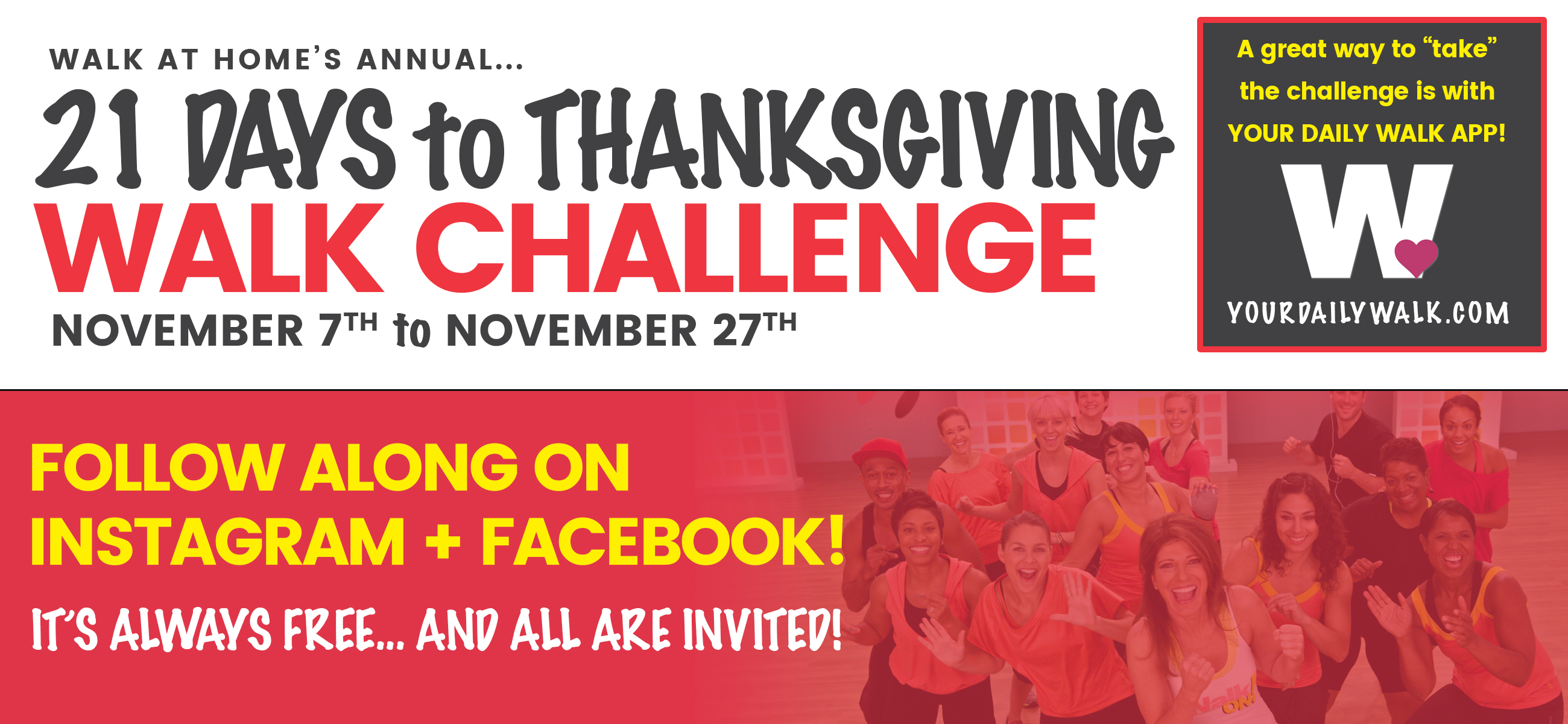 21 Days To Thanksgiving Challenge